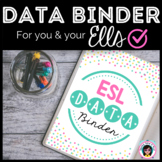 Data Binder for ELLs (editable) - UPDATED