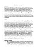 ELL language assessment social students lesson