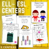 ELL or ESL Centers (Back To School)