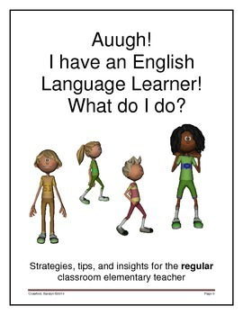 ELL strategies for the REGULAR education teacher