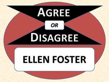 ELLEN FOSTER - Agree or Disagree Pre-reading Activity