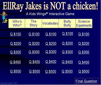 ELLRAY JAKES IS NOT A CHICKEN!  Bullying Changes Everything in 3rd Grade!