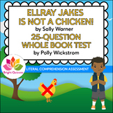 ELLRAY JAKES IS NOT A CHICKEN!  |  PRINTABLE WHOLE BOOK TE