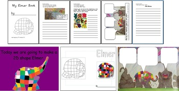 ELMER COLOUR AND LIGHT RAINBOWS ACTIVITIES RESOURCES PLANNING IWB