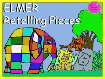 ELMER Retelling Pieces