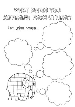 ELMER UNIT {It's Okay To Be Different}