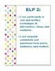 ELPA I can Statement Posters- 1 per page