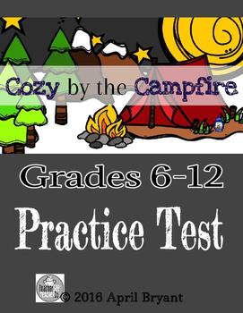 ELPA21 Practice Exam Campfire Theme