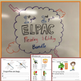 ELPAC 1st and 2nd Grade Reading and Writing Practice Bundle