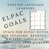 ELPAC Goals Sheet