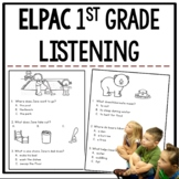 ELPAC Listening Practice for Kindergarteners and 1st graders *1st Edition*