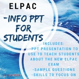 ELPAC Powerpoint (to review with Students)!