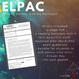 ELPAC Reading Domain: Literary Passages