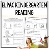 ELPAC Reading Practice Questions for Kindergarteners