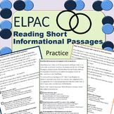 ELPAC Reading Practice Short Informational