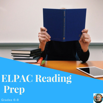 ELPAC Reading Prep Set
