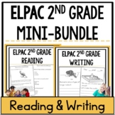 ELPAC 2nd grade Reading and Writing Practice Questions Bundle