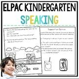 ELPAC Speaking Practice Questions for Kindergarteners
