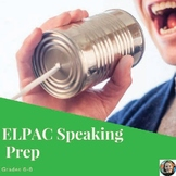 ELPAC Speaking Prep Set