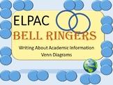 ELPAC Practice Write About Academic Information Venn Diagrams