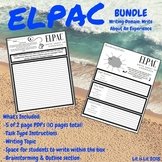 ELPAC Writing Domain: Write About An Experience BUNDLE (5 Practices)