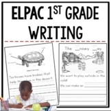 ELPAC Writing Practice Questions for 1st graders