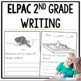 ELPAC Writing Practice Questions for 2nd graders