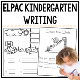 ELPAC Writing Practice Questions for Kindergarteners
