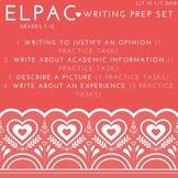 ELPAC Writing Prep Set