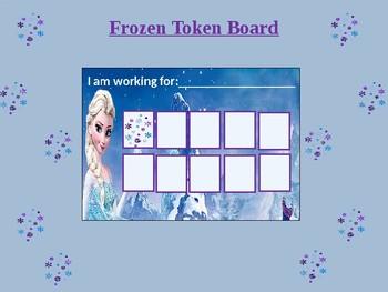 ELSA:Frozen Token Board