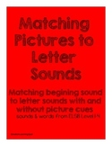 ELSB Matching Beginning Sound to Letter Sound