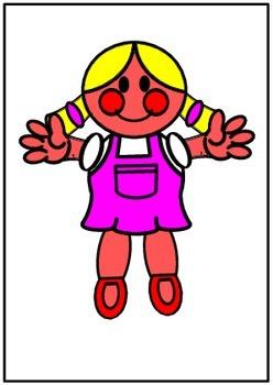ELT EFL Soft Toy Conversation Flashcards for Children