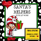 ELVES  Early Reader Christmas Holiday AAC PECS Early Childhood