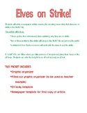 ELVES ON STRIKE!!  A Christmas newspaper writing and craftivity.