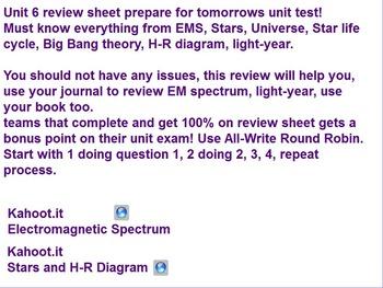 Em spectrum hr diagram week 2 by zealous educator tpt em spectrum hr diagram week 2 ccuart Choice Image