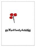 EM WORD FAMILY ACTIVITIES