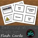 EM Waves Vocabulary Flash Cards
