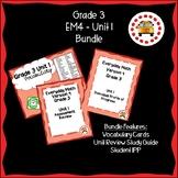 EM4-Everyday Math 4 - Grade 3 Unit 1 Bundle