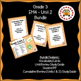 EM4-Everyday Math 4 - Grade 3 Unit 2 Bundle