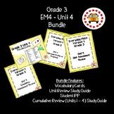 EM4-Everyday Math 4 - Grade 3 Unit 4 Bundle
