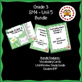 EM4-Everyday Math 4 - Grade 3 Unit 5 Bundle
