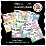 EM4-Everyday Math 4 - Grade 3 Vocabulary Bundle