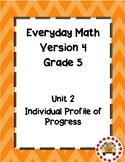 EM4-Everyday Math 4 - Grade 5 Unit 2 IPP