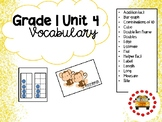 EM4-Everyday Math 4 - Grade 1 Unit 4 Vocabulary