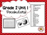 EM4-Everyday Math 4 - Grade 2 Unit 1 Vocabulary
