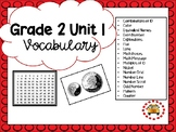 EM4-Everyday Math 4 - Grade 2 Unit 1 Vocabulary
