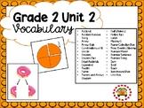 EM4-Everyday Math 4 - Grade 2 Unit 2 Vocabulary