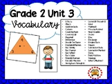 EM4-Everyday Math 4 - Grade 2 Unit 3 Vocabulary