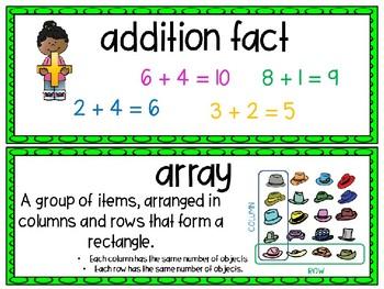 EM4-Everyday Math 4 - Grade 2 Unit 5 Vocabulary