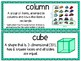 EM4-Everyday Math 4 - Grade 2 Unit 8 Vocabulary